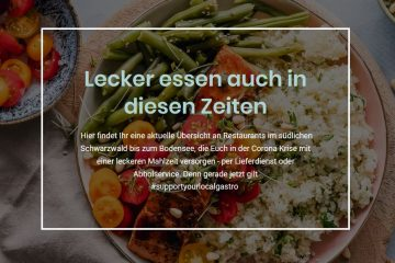 Support Your Local Gastro Essen zum Abholen