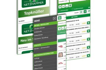 Service WebApp Beispielbilder