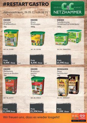 Unilever Restart Gastro