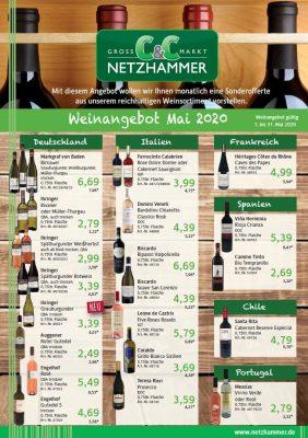 Angebote Wein Mai
